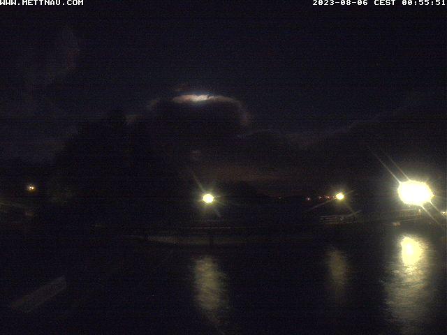 Halbinsel Mettnau bei Radolfzell - Blick auf den Anleger und zur Liebesinsel